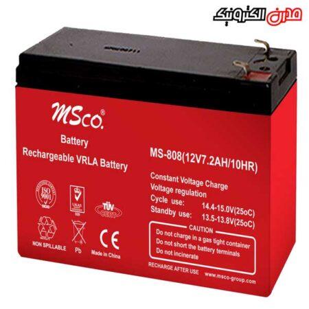 باتری ۱۲ ولت ۷٫۲ آمپر